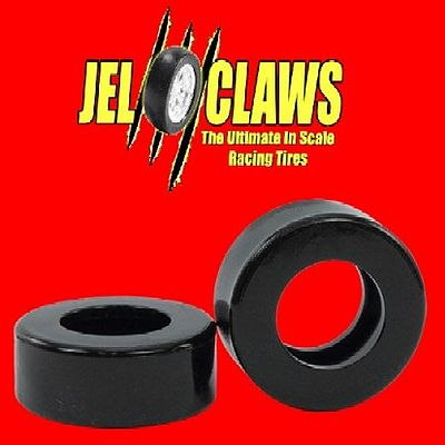 Innovative Hobby Supply Jel Claws Rubber Racing Tires (Rear) for SCX AAR Hemi Cuda -- Slot Car Part -- 1/32 Scale -- #1053