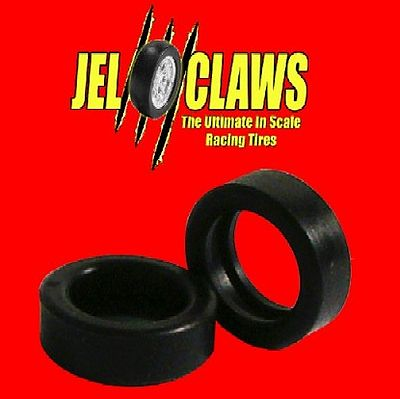 Innovative Hobby Supply Jel Claws Rubber Racing Tires (Rear) for Ninco classics -- Slot Car Part -- 1/32 Scale -- #1055