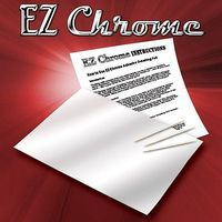 Innovative EZ Chrome Finishing Adhesive Backed Foil (6''x10'') Slot Car Part 1/32 Scale #1900