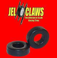 Innovative Rubber Racing Tires for Aurora Buggy (Front/Rear) & Hot Rod (Rear) Slot Car Part 1/64 #2040