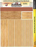 Innovative 1/24 & 1/32 UltraCal Hi-Def Decals- Wood Stake & Truck Bed Slot Car Decal #3410