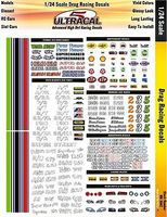 Innovative 1/24 UltraCal Hi-Def Decals- Drag Racing Slot Car Decal #3442