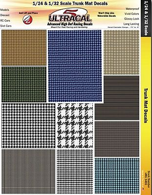 Innovative Hobby Supply 1/24 & 1/32 UltraCal Hi-Def Decals- Truck Mats -- Slot Car Decal -- #3455
