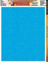 Innovative Multi-Scale SkinZ PhotoReal Decals- Water Calm Effect Slot Car Decal #3816