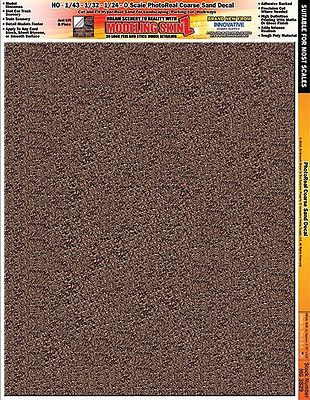 Innovative Hobby Supply Multi-Scale SkinZ PhotoReal Decals- Coarse Sand -- Slot Car Decal -- #3829