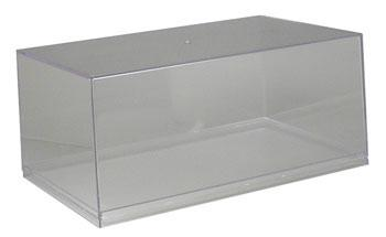 Imex Model Co Auto & Military Showcase (Clear Base) -- 1/18 Scale Plastic Model Display Case -- #2501