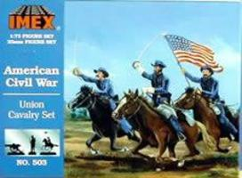 Imex Union Cavalry Plastic Model Military Figure 1/72 Scale #503