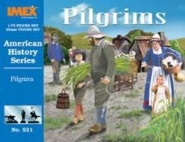 Imex Pilgrims Plastic Model Diorama All Scale 1/72 Scale #521
