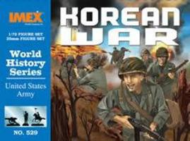 Imex US Army Korean War Figure Set Plastic Model Military Figure 1/72 Scale #529