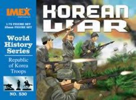 Imex Republic of Korea Troops Korean War Figure Set Plastic Model Military Figure 1/72 #530