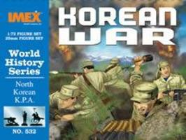 Imex North Korean KPA Troops Korean War Figure Set Plastic Model Military Figure 1/72 #532