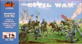 Imex Civil War Complete Set Plastic Model Military Diorama 1/72 Scale #605