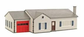 Imex Ranch House Assembled Perma-Scene HO Scale Model Railroad Building #6109