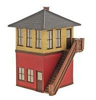 Imex Switch Tower Assembled Perma-Scene HO Scale Model Railroad Building #6111