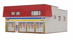 Imex Convenience Store Assembled Perma-Scene HO Scale Model Railroad Building #6125