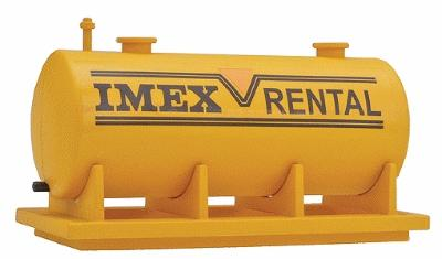 Imex Large Fuel Tank Assembled Perma-Scene HO Scale Model Railroad Building #6126