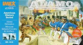 Alamo Defender Figure Set Plastic Model Military Diorama 1/72 Scale #612
