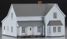 Imex Farm House Assembled Perma-Scene HO Scale Model Railroad Building #6136