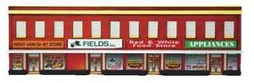 Four-Store Building Assembled Perma-Scene HO Scale Model Railroad Building #6143
