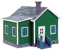 Imex Country Cottage Assembled Perma-Scene HO Scale Model Railroad Building #6149