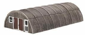 Imex Toms Quonset Hut (New) Perma-Scene N Scale Model Railroad Building #6300