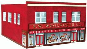 Imex F.W. Woolworth Co. Assembled Perma-Scene N Scale Model Railroad Building #6317