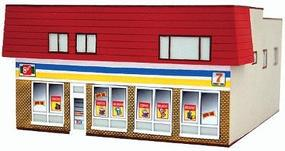 Imex Convenience Store Assembled Perma-Scene N Scale Model Railroad Building #6325