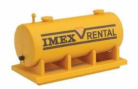 Imex Large Fuel Tank Assembled Perma-Scene N Scale Model Railroad Accessory #6326