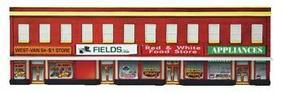Imex Four-Store Building Assembled Perma-Scene N Scale Model Railroad Building #6343