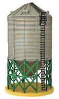 Imex Sukup Grain Tower #3 Assembled Perma-Scene N Scale Model Railroad Building #6347