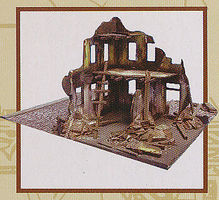 Imex WWII Bombed Out Building Plastic Model Military Diorama 1/72 Scale #6508