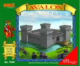 Imex Model Co Avalon Castle -- Plastic Model Diorama All Scale -- 1/72 Scale -- #7250