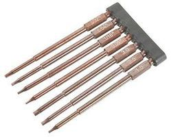 Integy Hex Tips,1/4''Adapt(.05,1.5,1/16,5/64,2.5,3/32,3.0)