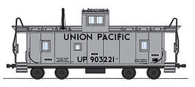 Intermountain CA-3/CA-4 Caboose Union Pacific MOW HO Scale Model Train Freight Car #1074