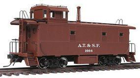 Intermountain ATSF Early Steel Caboose Atchison, Topeka & Santa Fe HO Scale Model Train Freight Car #1101