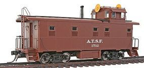 Intermountain ATSF Early Steel Caboose Atchison, Topeka & Santa Fe HO Scale Model Train Freight Car #1106