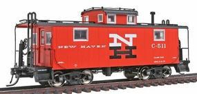 Intermountain NE-5 Caboose - Ready to Run - New Haven HO Scale Model Train Freight Car #1222