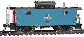 Intermountain Centralia Car Shops NE-5 Caboose Boston & Maine HO Scale Model Train Freight Car #1230