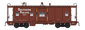 Intermountain Southern Pacific Class C-40-4 Bay Window Caboose - Ready to Run Southern Pacific (1400-Series, Boxcar Red, orange bay ends)