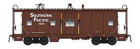 Intermountain Southern Pacific Class C-40-4 Bay Window Caboose - Ready to Run Southern Pacific (1500-Series, Boxcar Red, orange bay ends)
