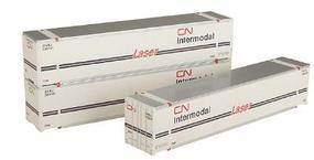 Intermountain 48 Smooth Side Container Canadian National HO Scale Model Train Freight Car Load #30408
