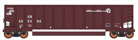 Intermountain 13-Panel Coalporter Coal Gondola 6-Pack Ready to Run Value Line Conrail (Boxcar Red, white, Quality Logo)