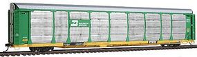 Intermountain Bi-Level Auto Rack on Flatcar Burlington Northern HO Scale Model Train Freight Car #45253