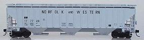 Intermountain PS2CD 4750 Cubic Foot 3-Bay Covered Hopper HO Scale Model Train Freight Car #45325