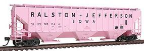 Intermountain PS2CD 4750 Cubic Foot 3-Bay Covered Hopper HO Scale Model Train Freight Car #45340