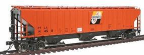 Intermountain PS2CD 4750 Cubic Foot 3-Bay Covered Hopper HO Scale Model Train Freight Car #45385