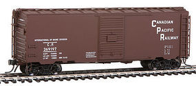 40' PS-1 6' door Boxcar RTR Canadian Pacific HO Scale Model Train Freight Car #45410