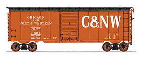 Intermountain 40 PS-1 Boxcar Chicago & North Western Lg HO Scale Model Train Freight Car #45485