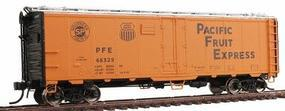 Intermountain R-40-23 Steel Ice Reefer Pacific Fruit Express HO Scale Model Train Freight Car #45537