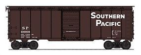 Intermountain Post-War 10 Inside-Height 40 Boxcar Southern Pacific HO Scale Model Train Freight Car #45785
